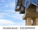 staircase to go  on blue sky... | Shutterstock . vector #1311094445