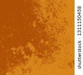 brushed orange paint cover....   Shutterstock .eps vector #1311150458