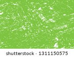 distressed spray green grainy... | Shutterstock .eps vector #1311150575