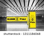 advertising billboard mockup... | Shutterstock . vector #1311186068