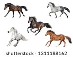 horse collection isolated on... | Shutterstock . vector #1311188162