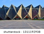 12 02 2019.baku.azerbaijan.baku ... | Shutterstock . vector #1311192938
