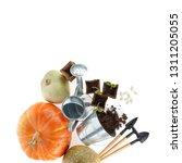 Still Life Gardening Tools Bucket - Fine Art prints