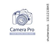 photography logo with side view.... | Shutterstock .eps vector #1311213845