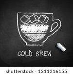 vector black and white sketch...   Shutterstock .eps vector #1311216155