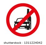 no drink and drive vector sign | Shutterstock .eps vector #1311224042