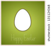 green greetings card with...   Shutterstock .eps vector #131124368
