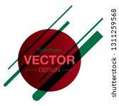 minimalistic design  creative... | Shutterstock .eps vector #1311259568