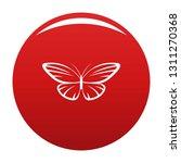 decorative moth icon. simple... | Shutterstock .eps vector #1311270368