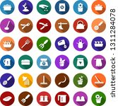 color back flat icon set  ... | Shutterstock .eps vector #1311284078