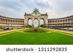 symmetric view of a triumphal... | Shutterstock . vector #1311292835
