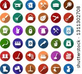 color back flat icon set  ... | Shutterstock .eps vector #1311302708