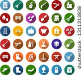 color back flat icon set   well ... | Shutterstock .eps vector #1311313838