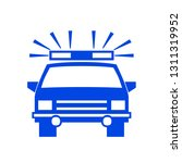 police car icon | Shutterstock .eps vector #1311319952
