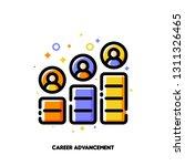 career advancement icon for...   Shutterstock .eps vector #1311326465