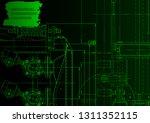 vector engineering illustration.... | Shutterstock .eps vector #1311352115