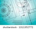 blueprint  sketch. vector... | Shutterstock .eps vector #1311352772