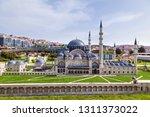 turkey istanbul april 18  2018  ... | Shutterstock . vector #1311373022