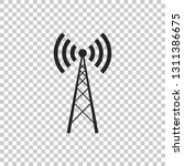 antenna icon isolated on... | Shutterstock .eps vector #1311386675