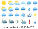 vector illustration of colorful ... | Shutterstock .eps vector #131144396