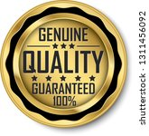 genuine quality guaranteed 100  ... | Shutterstock .eps vector #1311456092