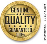 genuine quality guaranteed 100  ... | Shutterstock .eps vector #1311456095