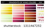 example of gradients of wine... | Shutterstock .eps vector #1311467252