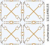seamless pattern with belts ...   Shutterstock .eps vector #1311498155