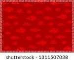 asian design cloud background... | Shutterstock .eps vector #1311507038