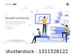 education concept. online...   Shutterstock .eps vector #1311528122