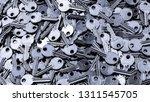 Close Up Pile Of Keys ...