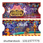 circus tickets to animals and... | Shutterstock .eps vector #1311577775