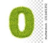 0. vector number zero... | Shutterstock .eps vector #1311601352