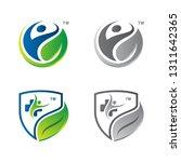 health life nutrition logo...   Shutterstock .eps vector #1311642365