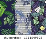 set of three tropical...   Shutterstock .eps vector #1311649928
