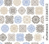 abstract seamless pattern with... | Shutterstock .eps vector #1311666512