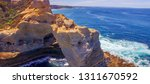 the arch. rock formation along... | Shutterstock . vector #1311670592