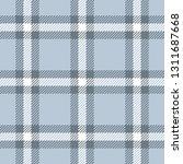 blue   grey tartan check plaid... | Shutterstock .eps vector #1311687668