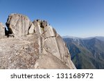Moro Rock Is A Granite Dome...