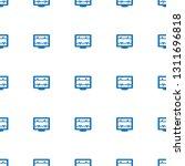heartbeat icon pattern seamless ... | Shutterstock .eps vector #1311696818