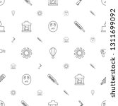 heat icons pattern seamless... | Shutterstock .eps vector #1311699092