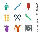 stick icons. trendy 9 stick... | Shutterstock .eps vector #1311701405
