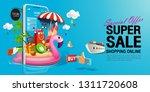 shopping online  special offer... | Shutterstock .eps vector #1311720608