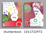 modern abstract covers set.... | Shutterstock .eps vector #1311722972