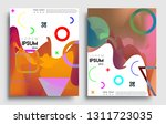 modern abstract covers set.... | Shutterstock .eps vector #1311723035