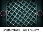wrought iron gates  ornamental... | Shutterstock . vector #1311730895