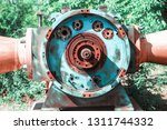 disassembled turbine close up   Shutterstock . vector #1311744332