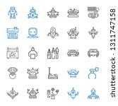 mechanic icons set. collection... | Shutterstock .eps vector #1311747158
