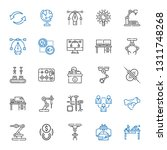 lined icons set. collection of... | Shutterstock .eps vector #1311748268