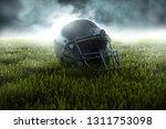 american football helmet  3d... | Shutterstock . vector #1311753098